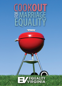 CookOUT for Marriage Equality: Spotsylvania @ Spotsylvania | Virginia | United States