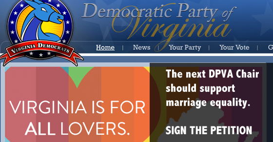 Marriage Equality Democratic Party of Virginia