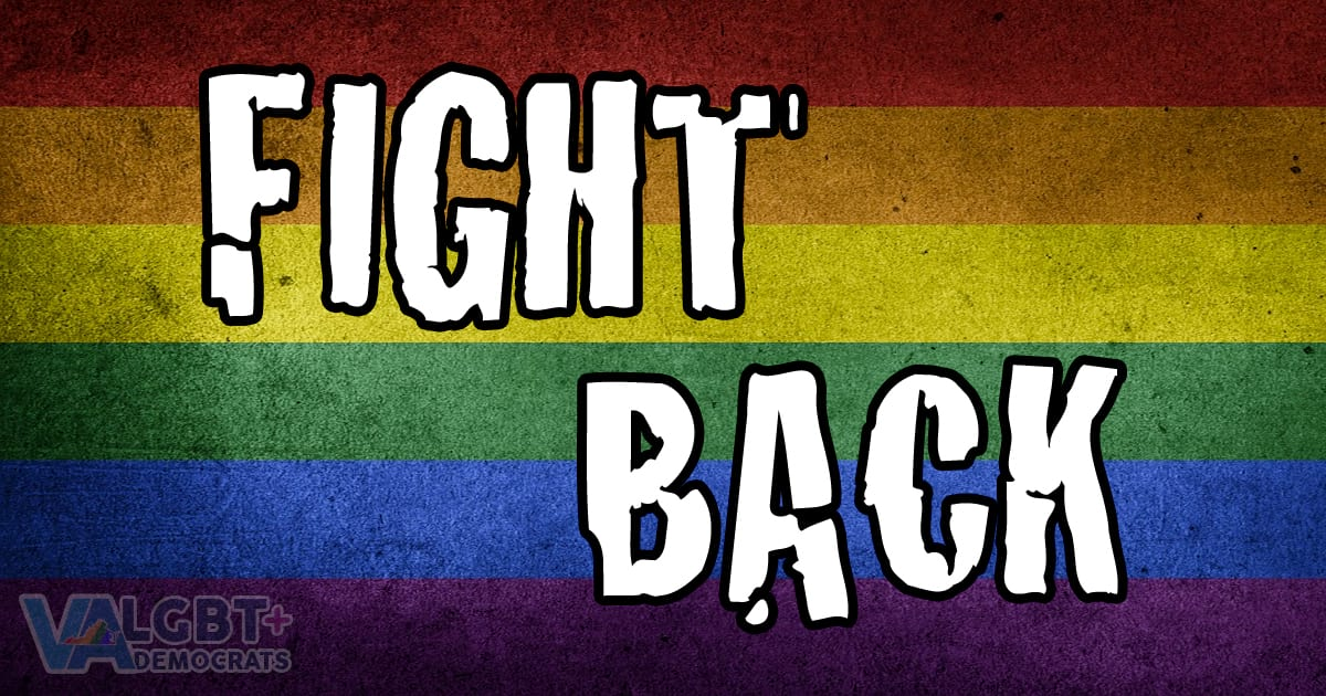 LGBT Democrats of Virginia Fight Back